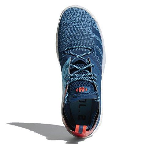 Adidas Harden Vol. 2 Blu Notte Scarpa Mens Pallacanestro Blu Notte-brillante Cyan-shock Rosso