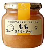 Honey jam peach jam 220g