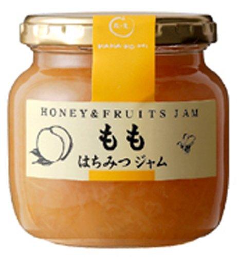 Honey jam peach jam 220g by Flower of the real