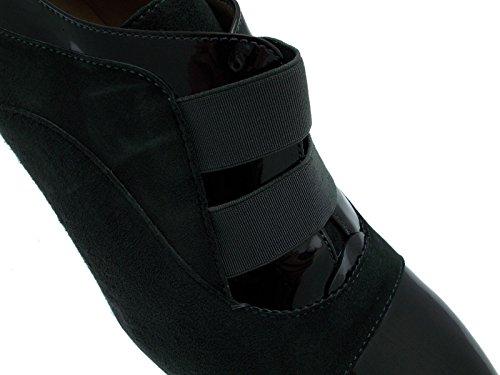 Chaussure femme art Y5559 col de coin gris