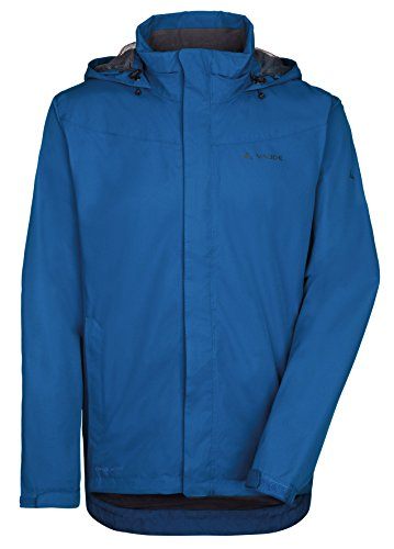 Men's Ideal Rain Waterproof Bike Vaude Escape 100 For Raincoat Cycling Lightweight Jacket Blue Polyester Light Walking Or vIw1dqWfqx
