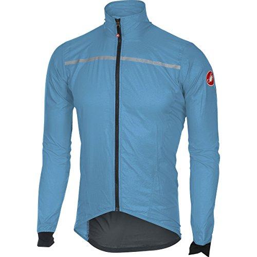Castelli Superleggera Jacket - Men's Sky Blue, (Castelli Cycling Jacket)