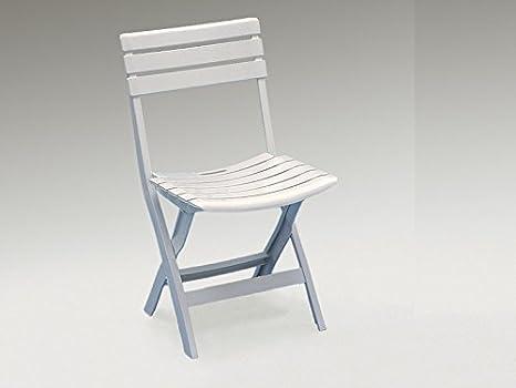 Sedie Pieghevoli Prezzi Offerte : Sedie in resina pieghevoli bianca cm h pz amazon