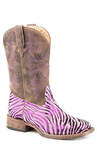 Roper Kids Baby Girl's Metallic Zebra (Toddler/Little Kid)