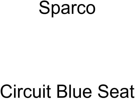Sparco Circuit Blue Seat
