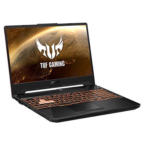 "ASUS TUF A15 FA506II-BQ029 - Ordenador portátil Gaming 15.6"" FullHD (Ryzen 7 4800H, 16GB RAM, 1TB SSD, NVIDIA GTX1650Ti-4GB, Sin sistema operativo) Negro Hoguera - Teclado QWERTY español"