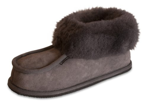 ShepherdLena - pantuflas altas mujer gris - Asphalt