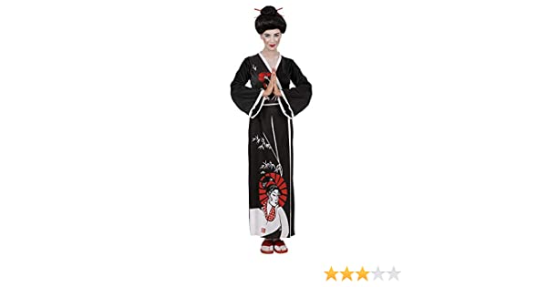 WIDMANN Widman - Disfraz de geisha oriental para mujer, talla S ...