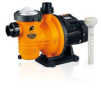 hydro pro orange swimming pool pump 0 37kw 0 5hp 230v single phase rh amazon co uk Wiring 220 Volt Pool Pump Pool Pump 220V Wiring Diagram