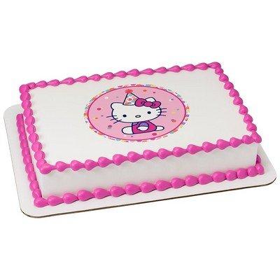 Hello Kitty Licensed Edible Cake Topper #38926 -