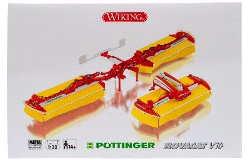 Wiking 077341 Pöttinger Novacat V10 Mähwerk 1:32