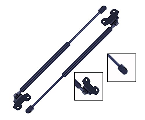 2 Pieces (SET) Tuff Support Hood Lift Supports 2003 TO 2007 Honda Accord V6 (03 Honda Accord Hood Shocks)