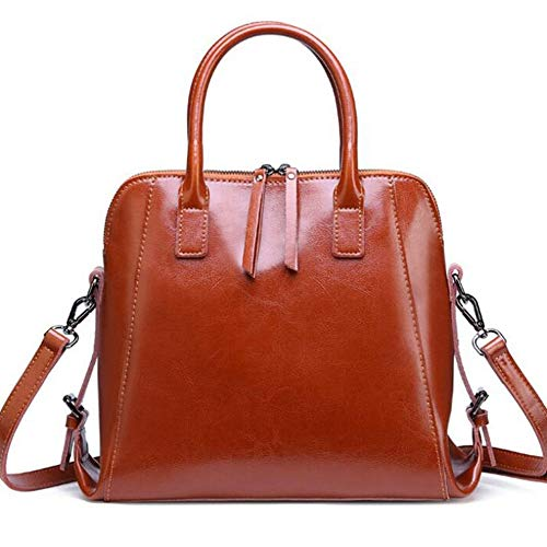 B Large da Sxuefang Leather Borse 31x11x27 Volume donna Fashion Lady Bag 5cm 7SPq7YF