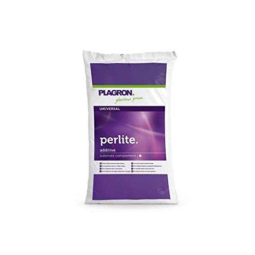 Plagron Perlite Verbessert Drainage und Bodenstruktur Perlite (60L)