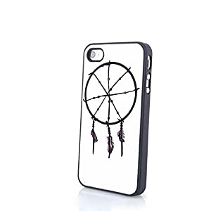Cute Dream Catcher and Apple Cell Phone PC Phone Cases fit SamSung Galaxy S4 Mini Plastic Back Hard Cover Matte Case