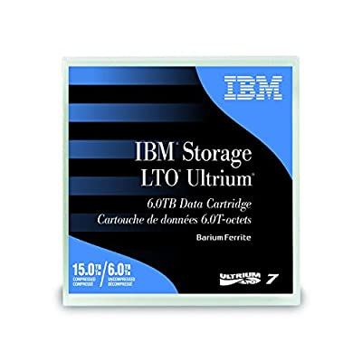 Ibm Media 38l7302 Ultrium Lto 7 Tape Cartridge - 6.0tb from IBM