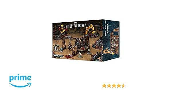 Brand New in Box! Warhammer 40k 50-28 Orks Mekboy Workshop