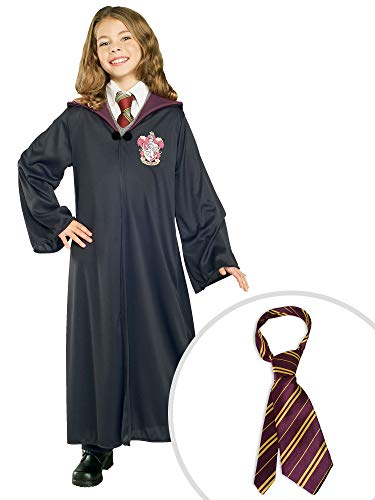 Harry Potter Gryffindor Costume Kit Kids XL Robe With Tie -