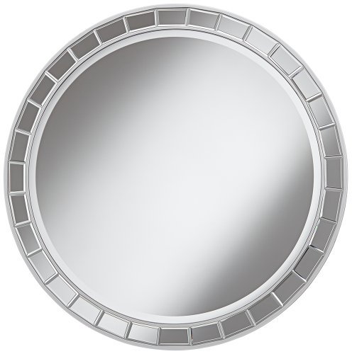 Kesha Antique Silver Beveled Mirror product image