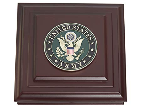 US Army Medallion Desktop Box