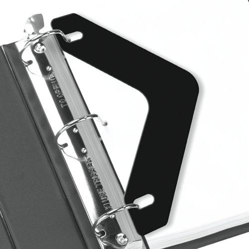 Black Boomerang Easy Flow II 45 Gauge Wilson Jones Sheet Lifters 20//Box