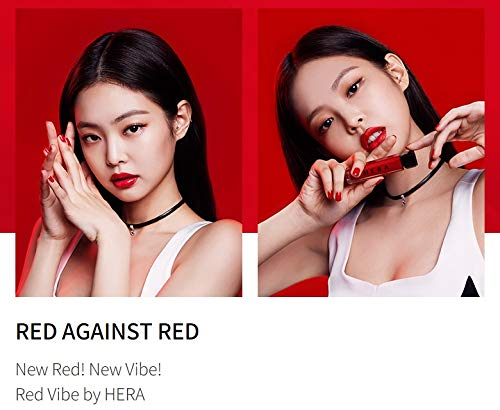 Jennie x HERA Red Vibe