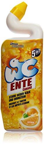 WC Ente Citrus Gel, 3er Pack (3 x 750 ml)