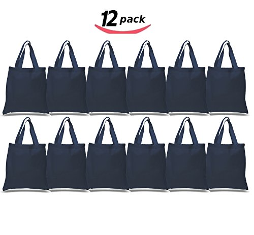 Blue Fabric Party Bags - 4