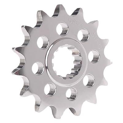 Vortex 3370-15 Silver 15-Tooth 520-Pitch Front Sprocket: Automotive