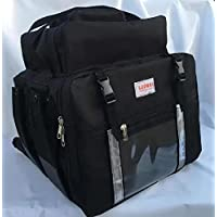Bag Bolsa Mochila Delivery Motoboy com isopor 45 litros na cor PRETA