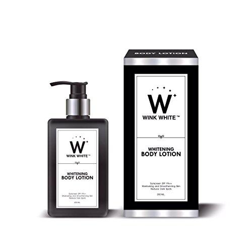 Wink White Body Lotion Whitening SPF PA++ Smooth Skin Dark Spot Smooth Moisturizing 200ml