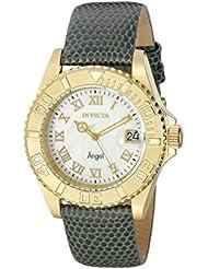 Invicta Womens 18410 Angel Analog Display Swiss Quartz Grey Watch