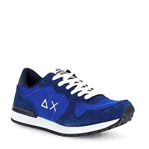 SNEAKER RUNNING SOLID COLOR MESH ROYAL SUN 68