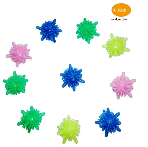 Aiamo Washer Balls, Eco-Friendly Dryer Balls 10 Pcs, Laundry Scrubbing Balls Tangle-Free, Solid Colorful Laundry Washing Balls Enhance Your Machine Cleaning Power (10) (Best Economical Washer And Dryer)