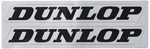 (Factory Effex 02-7069 White 'Dunlop' Universal Swing Arm Sticker)