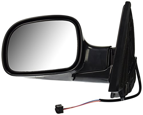 Depo 333-5403L3EB Black Driver Side Power Non-Heated Mirror