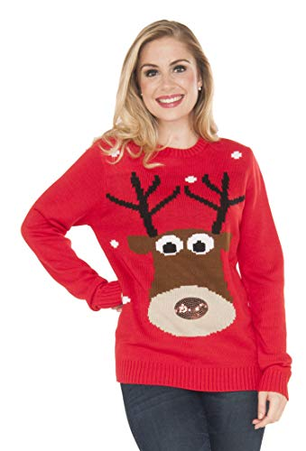 Rubies Costume Reindeer Ugly Christmas Sweater, Multi, for sale  Delivered anywhere in Canada