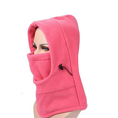 Ezyoutdoor Fleece Balaclava Hooded Face Mask Swat Ski Neck Hoods Full Face Mask Cover Hat Cap for Riding Cycling Hunting Fishing Walking Outdoor Sports (Hot (Camo Hockey Mask)