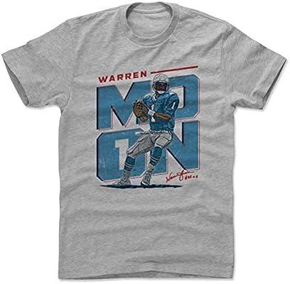 7daa8ae65a0 Amazon.com   500 LEVEL Warren Moon Cotton Shirt (Small
