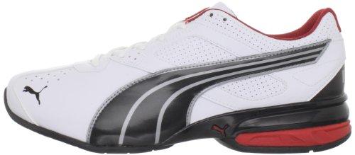 886375633292 - PUMA Men's Tazon 5 Cross-Training Shoe,White/Black/Ribbon Red,10 D US carousel main 4