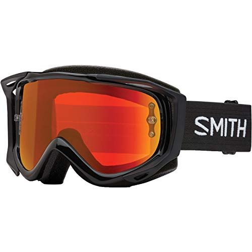 Smith Fuel V.2 Goggle Black/Red Mirror, One Size ()