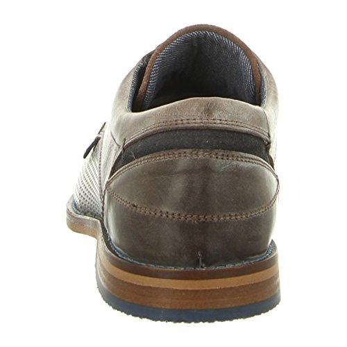 BULLBOXER 615k25462cpnbr - Zapatos de cordones de Piel Lisa para hombre pnbr