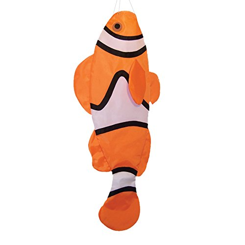 In the Breeze Clownfish Windsock, 40-Inch by In the Breeze