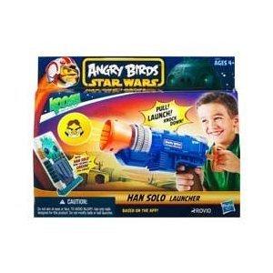 Hasbro Angry Birds Star Wars - Han Solo Koosh Ball Launcher