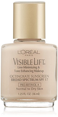 (Pack 2) L'oreal Paris Visible Lift Line-minimizing & Tone-enhancing Makeup, Soft Ivory 102, 1.25 Ounces