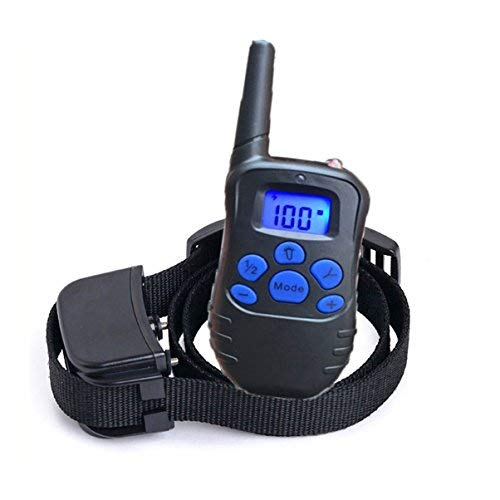 Just 4 Paws Rechargeable & Waterproof Dog Training Collar with Beep, Vibration and Shock – Helps You to Stop Your Dog's Misbehavior