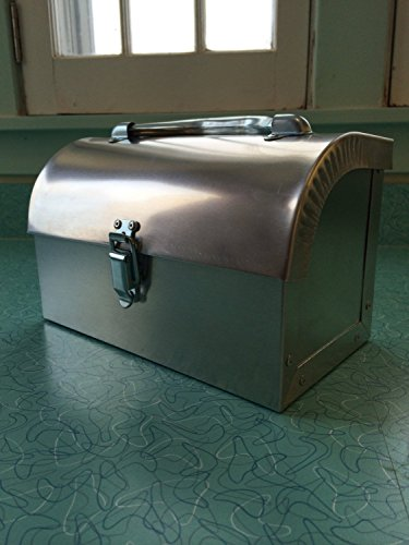 Retro Metal Lunchbox (Industrial Lunch Box)