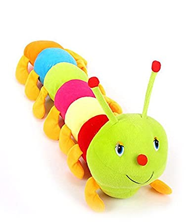 25a85dd9c3816 Buy Deals India Cute Colourful Caterpillar Soft Toy (70 cm) Online at Low Prices  in India - Amazon.in