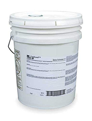 - 3M (1) Spray Activator 1, 5 Gallon Pail [You are purchasing the Min order quantity which is 5 Gallons]