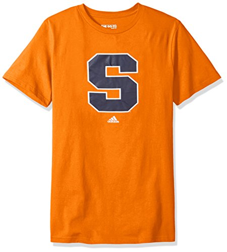 Addidas Ncaa Mens Syracuse Orange Primary Logo Short Sleeve Tee   Large